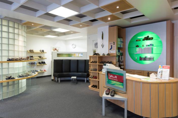 Geschäftsäume von Gebhardt Gesunde Schuhe